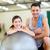 iki · gülen · insanlar · spor · salonu · uygunluk · spor - stok fotoğraf © dolgachov
