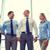 souriant · gens · d'affaires · réunion · bureau · affaires · travail · d'équipe - photo stock © dolgachov