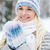 aantrekkelijke · vrouw · winter · bos · meisje · boom · gezicht - stockfoto © dolgachov