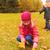 iki · çocuklar · yaprakları · sonbahar · yaprakları · ağaç - stok fotoğraf © dolgachov