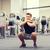 若い男 · 筋肉 · バーベル · ジム · スポーツ · フィットネス - ストックフォト © dolgachov