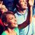 kettő · izgatott · párok · néz · egyéb · mosoly - stock fotó © dolgachov
