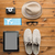 close up of gadgets and traveler personal stuff stock photo © dolgachov