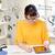 tablet · distanza · apprendimento · ufficio · scuola · felice - foto d'archivio © dolgachov