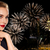 belle · femme · rouge · nuit · ville · personnes - photo stock © dolgachov