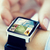 close up of hands with application on smartwatch stock photo © dolgachov