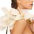 güzel · sakin · güzel · kız · orkide · çiçek - stok fotoğraf © dolgachov