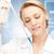 lab worker holding up test tube stock photo © dolgachov