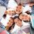 groep · tieners · naar · beneden · te · kijken · zomer · vakantie - stockfoto © dolgachov
