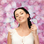 mulher · pescoço · quadro · bela · mulher · sorrir · beleza - foto stock © dolgachov
