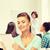 sorridente · feminino · estudantes · escolas · educação - foto stock © dolgachov