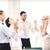 equipo · de · negocios · victoria · oficina · éxito · negocios - foto stock © dolgachov