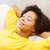 feliz · africano · americano · mulher · isolado - foto stock © dolgachov