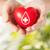 手 · 中心 · 赤十字 · シンボル · 医療 · チャリティー - ストックフォト © dolgachov