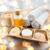 海塩 · 木製 · ボウル · 孤立した · 白 · 化粧品 - ストックフォト © dolgachov
