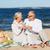 gelukkig · paar · picknick · buiten · vrouw · boom - stockfoto © dolgachov