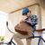 человека · велосипед · глядя · что-то · сумку - Сток-фото © dolgachov