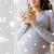 счастливым · беременная · женщина · домой · беременности · материнство - Сток-фото © dolgachov