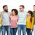 internationale · groep · gelukkig · glimlachend · mensen · diversiteit - stockfoto © dolgachov
