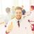 улыбаясь · мужской · доктор · медицинской · группа · здравоохранения · медицина - Сток-фото © dolgachov