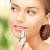 beautiful woman with lipstick stock photo © dolgachov