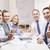 グループ · オフィスワーカー · ビジネス · コールセンター - ストックフォト © dolgachov