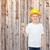 мало · мальчика · забор · Постоянный · только · древесины - Сток-фото © dolgachov