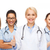 team or group of doctors and nurses stock photo © dolgachov