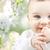 closeup of happy baby boy or girl stock photo © dolgachov