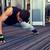 man one arm push ups in gym stock photo © dolgachov
