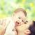 adorabile · madre · bacio · bambino · amato - foto d'archivio © dolgachov