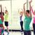 группа · улыбаясь · люди · танцы · спортзал · студию - Сток-фото © dolgachov