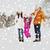 gelukkig · gezin · winter · kleding · lopen · buitenshuis - stockfoto © dolgachov