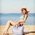 meisje · zonnebaden · zomer · vakantie · vakantie - stockfoto © dolgachov