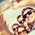 grupo · amigos · quadro · verão - foto stock © dolgachov