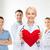 врач · сердце · импульс · синий · медицина - Сток-фото © dolgachov