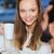 幸せ · カップル · 飲料 · コーヒー · カフェ - ストックフォト © dolgachov