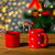 christmas · snoep · houten · tafel · vakantie · winter - stockfoto © dolgachov