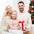 gelukkig · moeder · dochter · geschenkdoos · mensen · vakantie - stockfoto © dolgachov