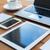laptop · smartphone · tabel · business · telefoon - stockfoto © dolgachov