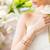 femme · blanche · diamant · bijoux · luxe - photo stock © dolgachov