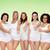 группа · счастливым · различный · женщины - Сток-фото © dolgachov