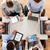 creatieve · team · laptop · kantoor · business - stockfoto © dolgachov