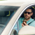 man in sunglasses driving car with smartphone stock photo © dolgachov
