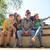 boldog · tini · diákok · elvesz · okostelefon · oktatás - stock fotó © dolgachov
