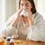 femme · moucher · papier · portrait · allergie - photo stock © dolgachov