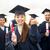 gelukkig · studenten · onderwijs · gebaar · mensen · groep - stockfoto © dolgachov