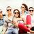 группа · подростков · подвесной · из · лет · праздников - Сток-фото © dolgachov