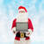 man in costume of santa claus with laptop stock photo © dolgachov