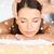 bela · mulher · cara · cabeça · massagem · beleza · saúde - foto stock © dolgachov